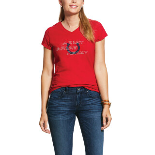 Ariat  T-Shirt Puff Print Logo